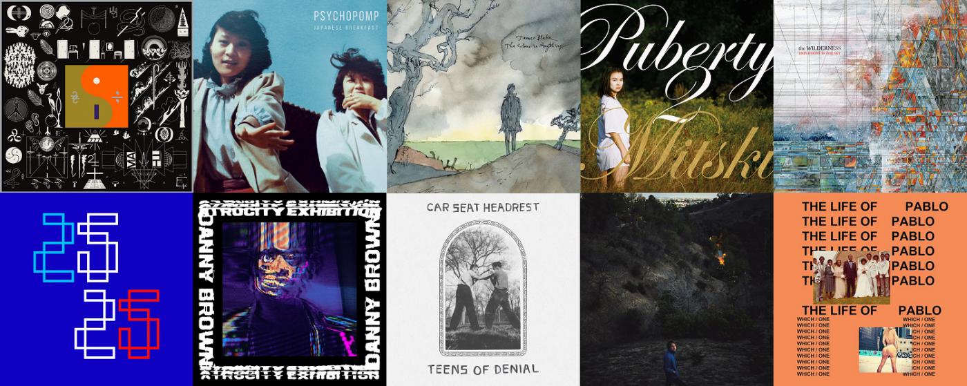 Top 10 Albums Of 2016 Tom Geraghty