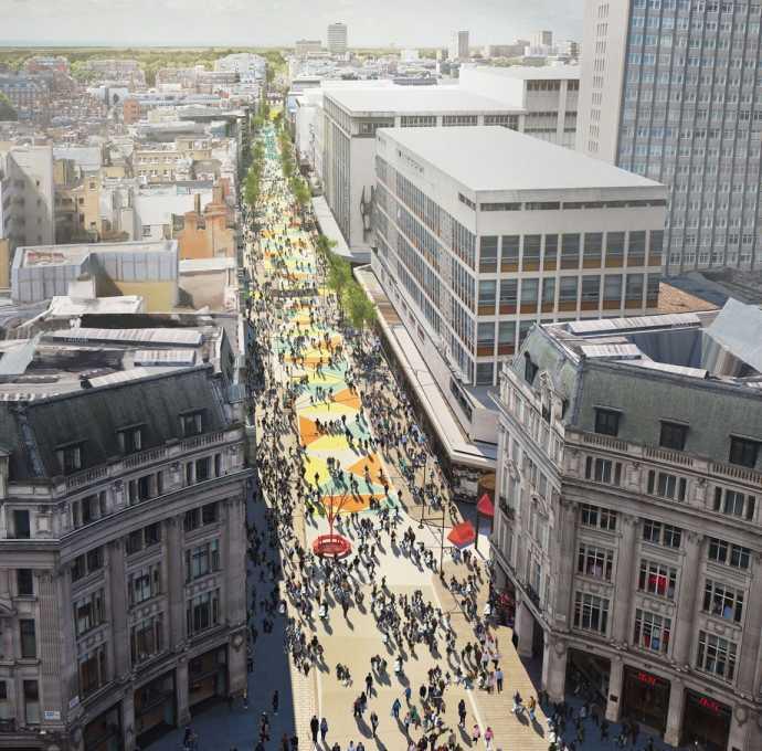 Pedestrianise Oxford Street