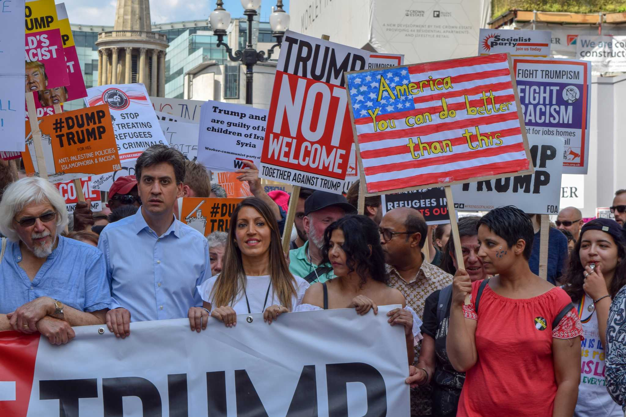 London Trump Protest